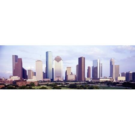 Houston TX Poster Print - Halloween Houston Tx