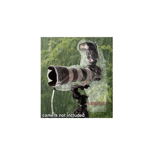 Op/Tech USA Rainsleeve for Digital SLR Camera, Lens & Flash (2 Pack)
