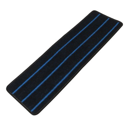 Polypropylene Fiber Non-slip Staircase Stair Mat Pad Rug Blue Black 80cm x 24cm Only 1 Piece ()