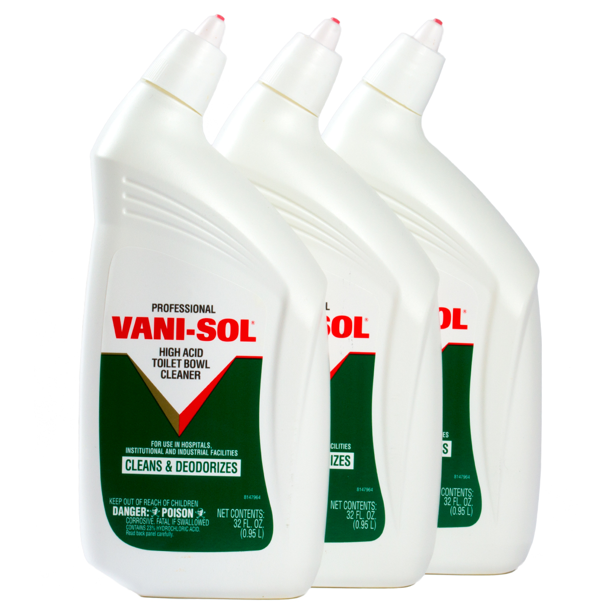 3 Vani Sol 32oz Bottles Professional Liquid High Acid