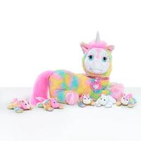Unicorn Surprise Plush, Crystal, Ages 3+