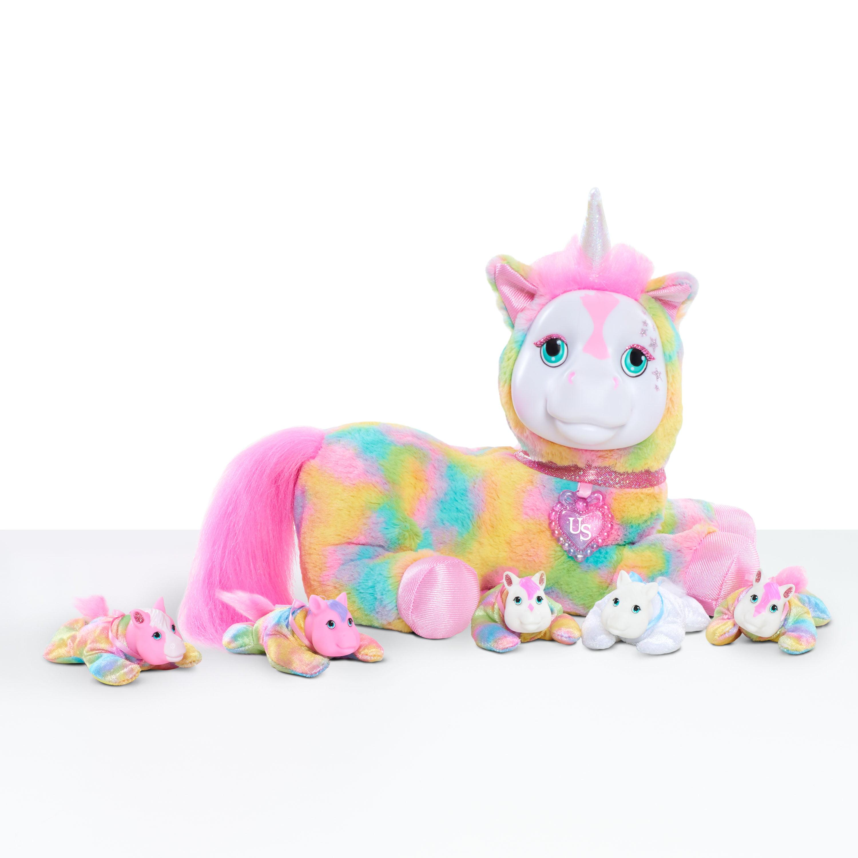 Unicorn Surprise Plush - Crystal