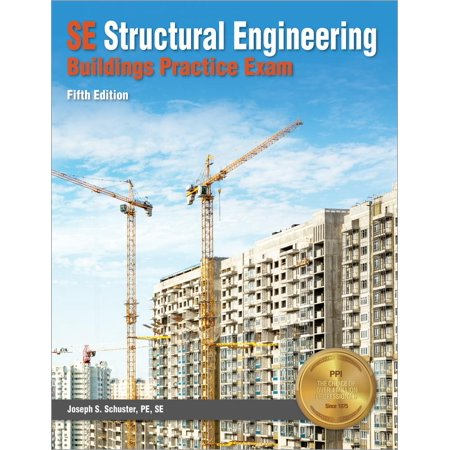 Se Structural Engineering Buildings Practice Exam (Paperback) - Engineering Games.com