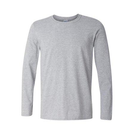 e9e418d7beb Gildan - Gildan - Softstyle Long Sleeve T-Shirt - 64400 - Walmart.com