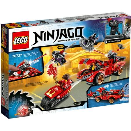 Red Lego Ninja (LEGO Ninjago X-1 Ninja)