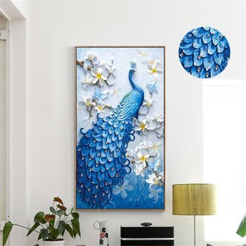 Cabina Home Peacock 5D DIY Diamond Painting Kit