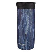 Contigo Stainless Steel Coffee Mug | Couture SNAPSEAL Vacuum-Insulated Travel Mug, 16 oz, Blonde Wood