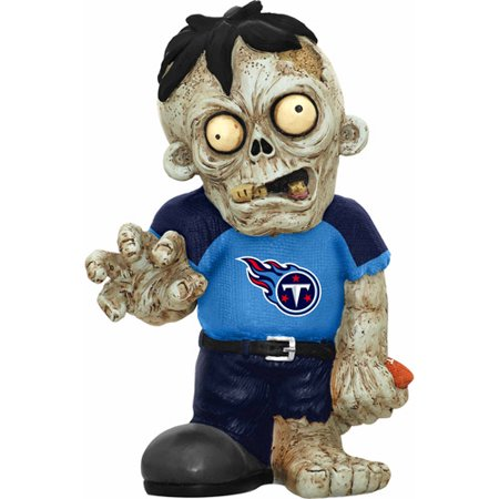 Forever Collectibles NFL Resin Zombie Figurine, Tennessee Titans