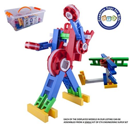 CTK Engineer Building Set AEUR Fun STEM Toys 3 4 5 6 7 8 9 Year Old Boys Girls