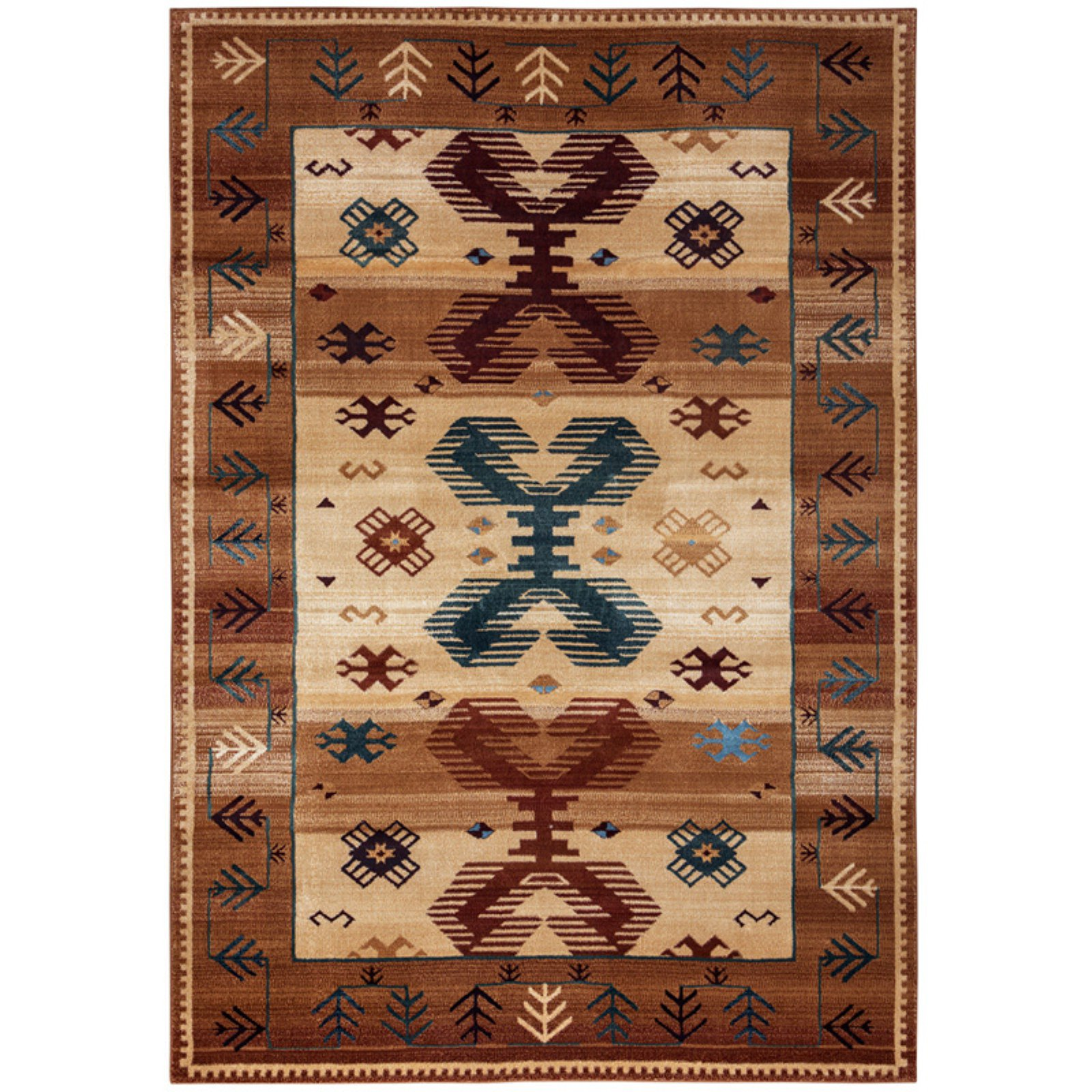 Rizzy Home BV3705 Bellevue Power Loomed Polypropylene Rug