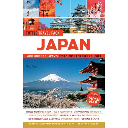 Japan tuttle travel pack : your guide to japan's best sights for every budget: