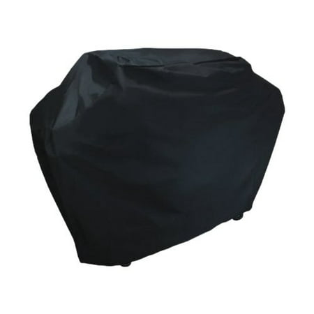 Outdoor Grill Cart Cover (BBQ Grill Cover Weatherproof Heavy Duty Outdoor Protector Large - Black )