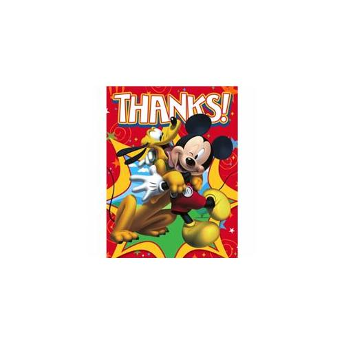 Hallmark 221704 Disney Mickey Fun and Friends Thank-You Notes