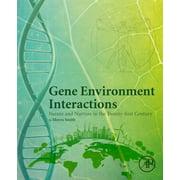 Gene Environment Interactions - eBook