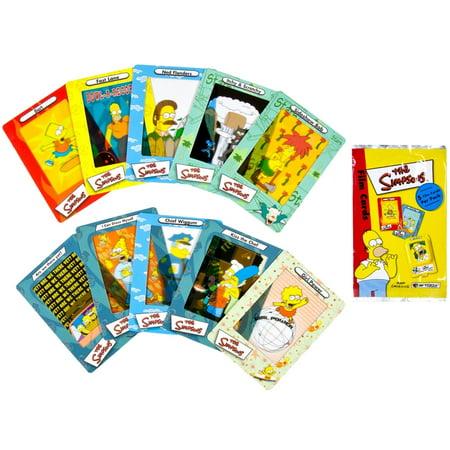 Simpsons - Collectible Film Cards - Film De Simpson Halloween