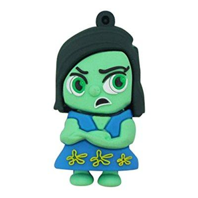 Inside Out Disgust USB Flash Drive 16GB by P46 Digital