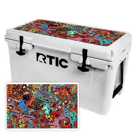 MightySkins Skin For RTIC 20 Cooler (2017 Model) | Protective, Durable, and Unique Vinyl Decal wrap cover | Easy To Apply, Remove, and Change Styles | Made in the