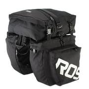 ROSWHEEL 3 in 1 Multifunction Road MTB Mountain Bike Bag Bicycle Pannier Rear Seat Trunk Bag