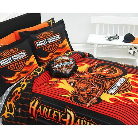 Harley Davidson Bar Amp Shield Dec Pillow Walmart Com
