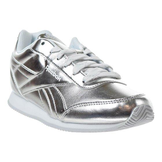 af2fbd2c65e69 Reebok - Reebok Royal Classic Jogger 2.0 Kids  Sneakars Silver ...