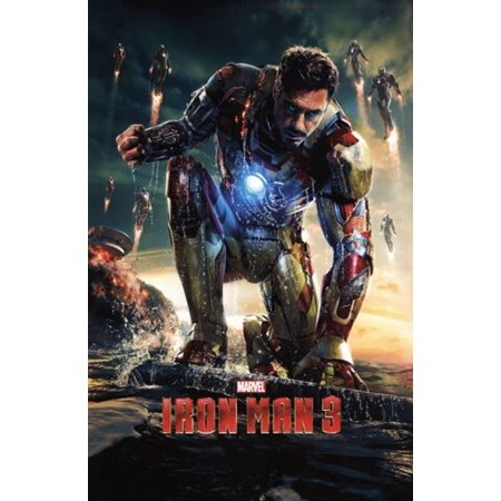 Marvel Iron Man 3 - One Sheet Poster Print (24 x 36)