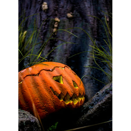 LAMINATED POSTER Halloween Autumn Pumpkin Poster Print 24 x 36](Halloween Pumpkin Art And Craft)