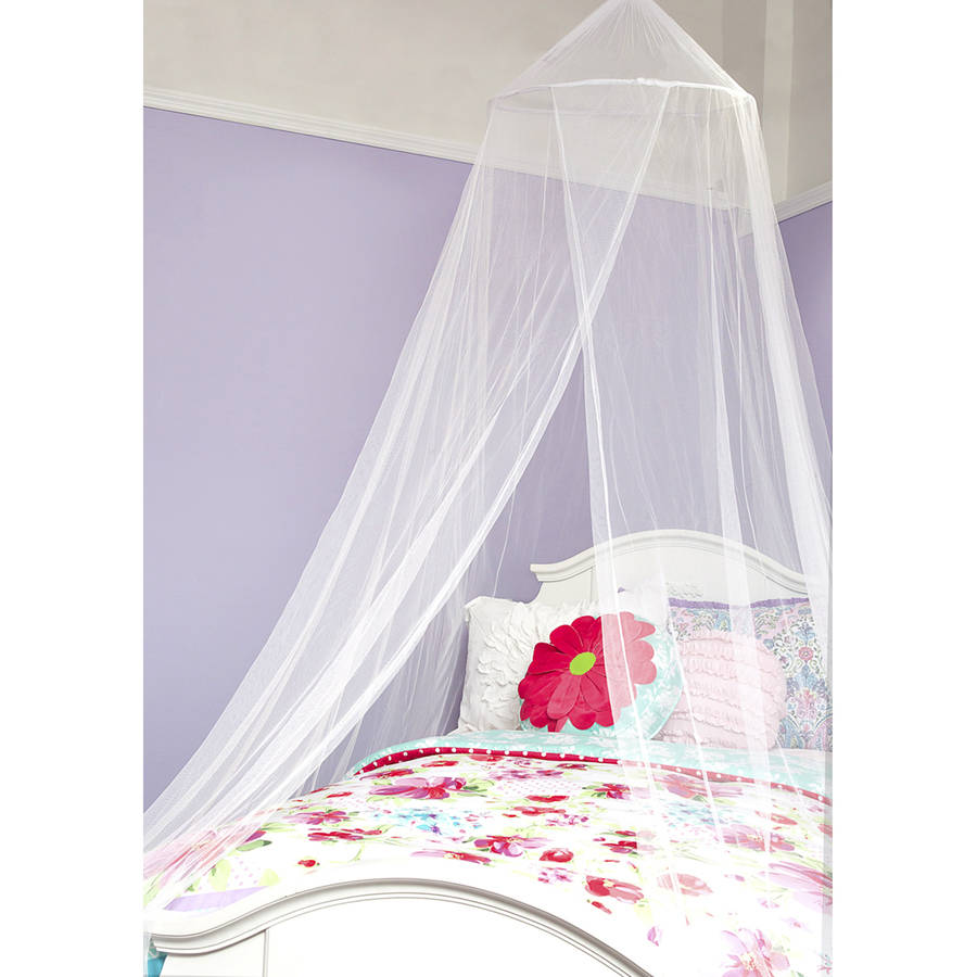 Mainstays Kids Royalty White Canopy