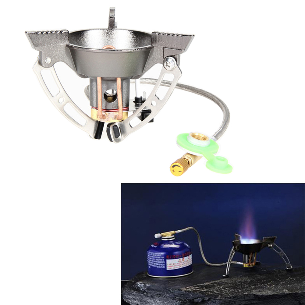 Portable Mini Backpacking Outdoor Camping Picnic Gas Stove Split Cookware Burner