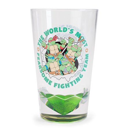 Teenage Mutant Ninja Turtles Fearsome Fighting Team Acrylic Cup ()