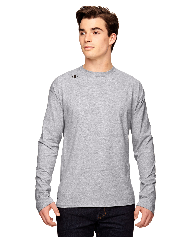 Long Sleeve Cotton Mens T Shirts