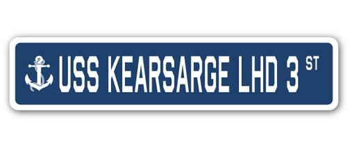 USS Kearsarge LHD 3 Personalized Canvas Ship Photo Print Navy Veteran Gift