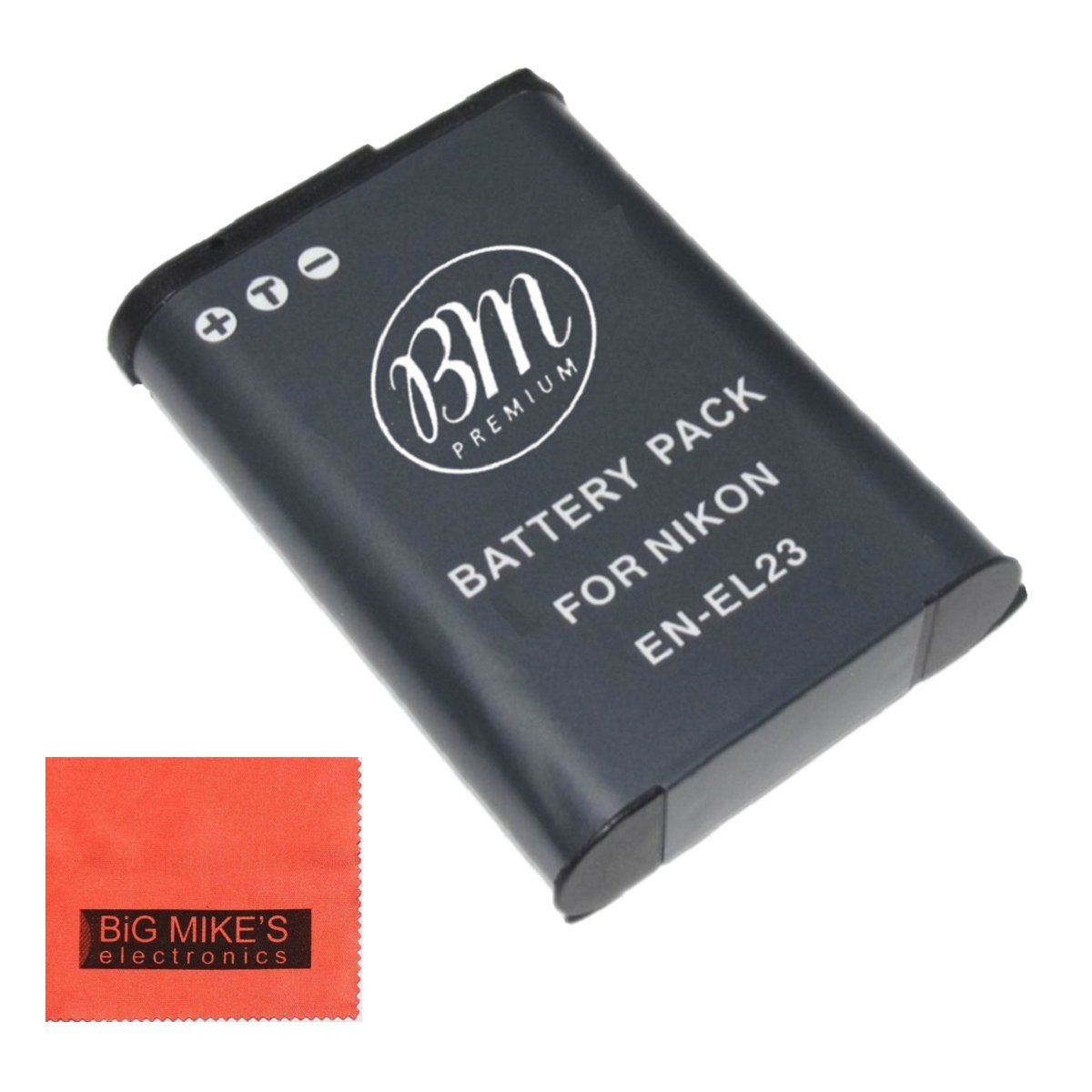 BM Premium EN-EL23 Battery for Nikon Coolpix B700, P600, P610, P900, S810c Digital Camera