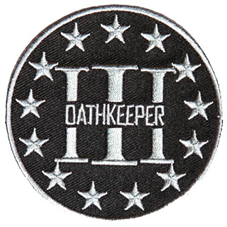 OATH KEEPER 3 PERCENTER ROUND PATCH - Color - Veteran Owned Business.](Oath Keeper)