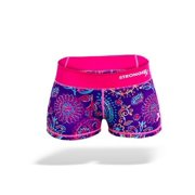 Stronger RX Pink & Purple Comp Women Shorts, Medium