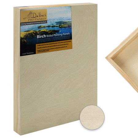 Da Vinci Pro Painting Panels Gesso Smooth Textured Coarse Grip or Birc