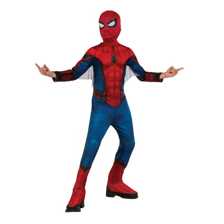 Spider-Man Far From Home: Spider-Man Kids (Red/Blue Suit) Costume](Man Of Steel Movie Costume For Sale)