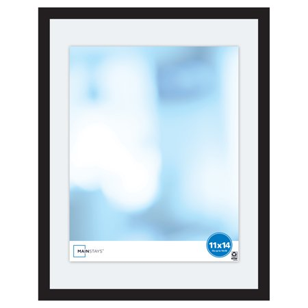 Mainstays 14x18 Expression Float Frame, Black ()