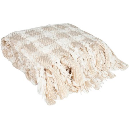 Elegant Check Pattern Knit 50