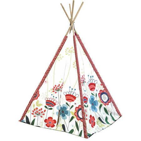 American Kids Awesome Tee-Pee Tent, Available in Multiple Colors Native American Teepee