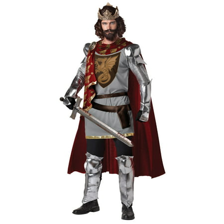 Male King Arthur Costume (King Costume)