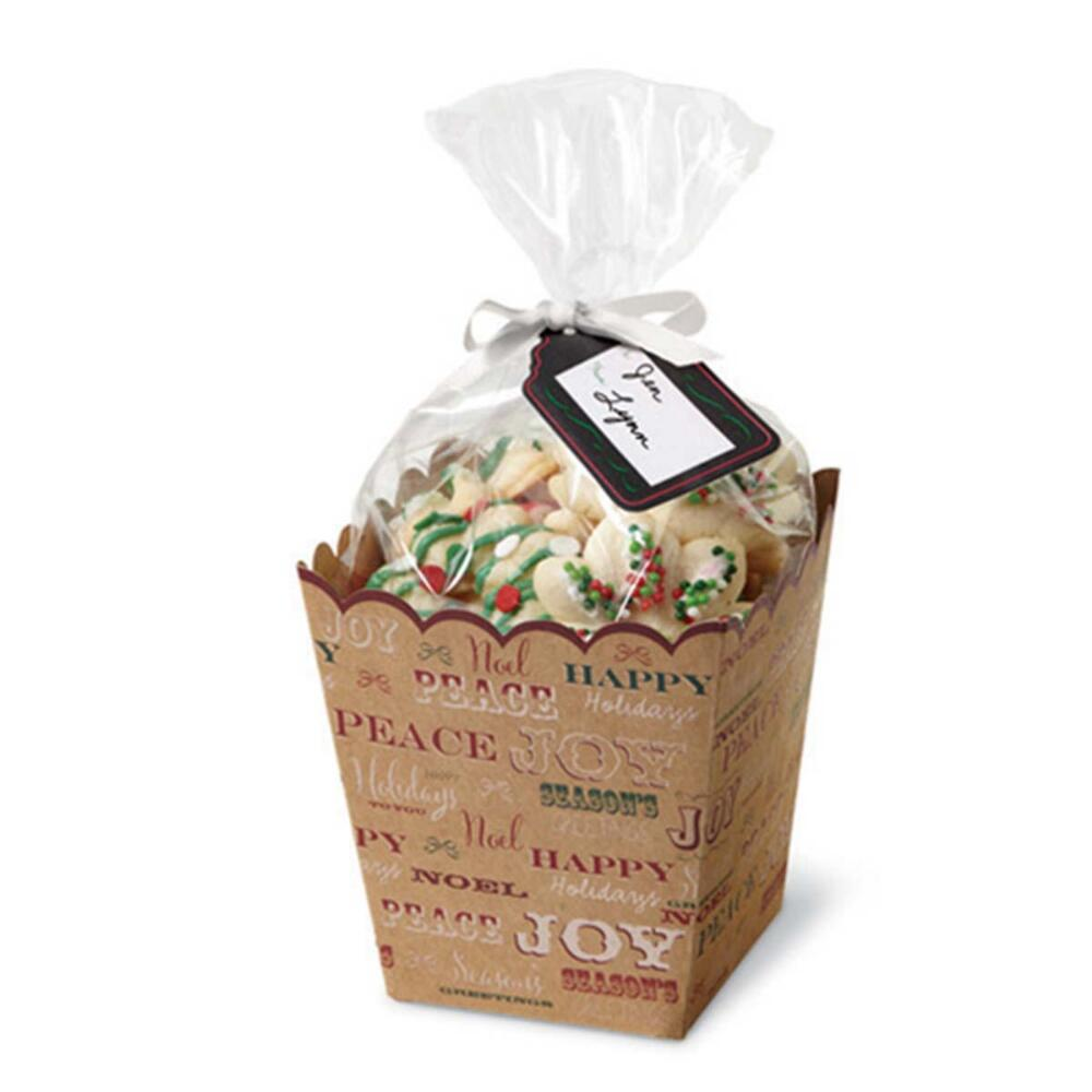 Wilton Industries 415-2611 4 Count Christmas Holiday Sweet Swap Treat Gifting Kit Multi-Colored
