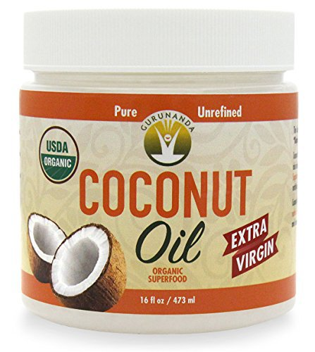 USDA Organic Coconut Oil 16 oz by Healthworks 100% Extra Virgin and Cold Pressed for Cooking, Health and Beauty