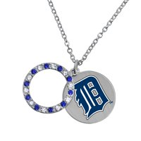 Game Time Offical MLB DETROIT TIGERS Disc Necklace