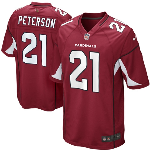 Patrick Peterson Arizona Cardinals Nike Youth Team Color Game Jersey - Cardinal