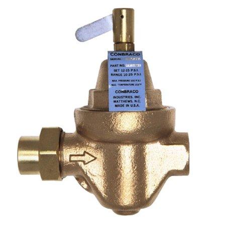 - Apollo 35-703-01 Model FF12 Bronze Water Pressure Regulator 1/2