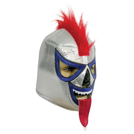Adult Costume Wrestling Mask - Demon - Lucha Libre Halloween Costume