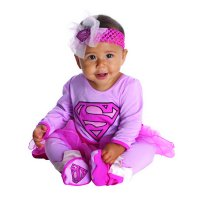 Rubies Costume Co. - Costume Assortment Onesies- Wonder woman, Supergirl, Captain Marvel