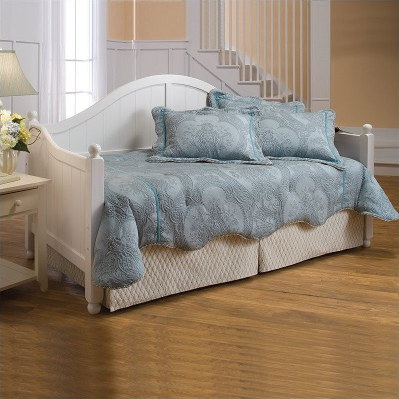 Hillsdale Furniture Augusta Day Bed with Trundle, Multiple Colors by Hillsdale