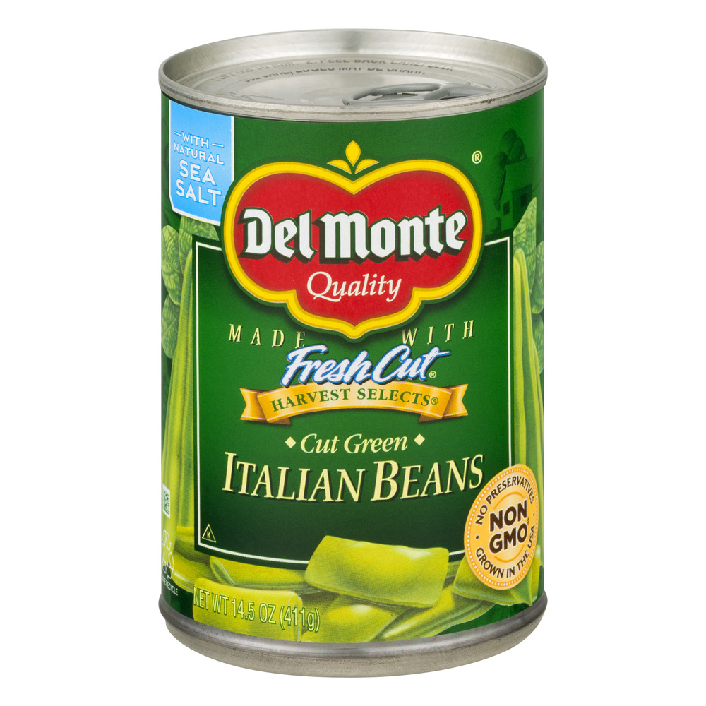 Del Monte Fresh Cut Italian Beans Cut Green, 14.5 OZ
