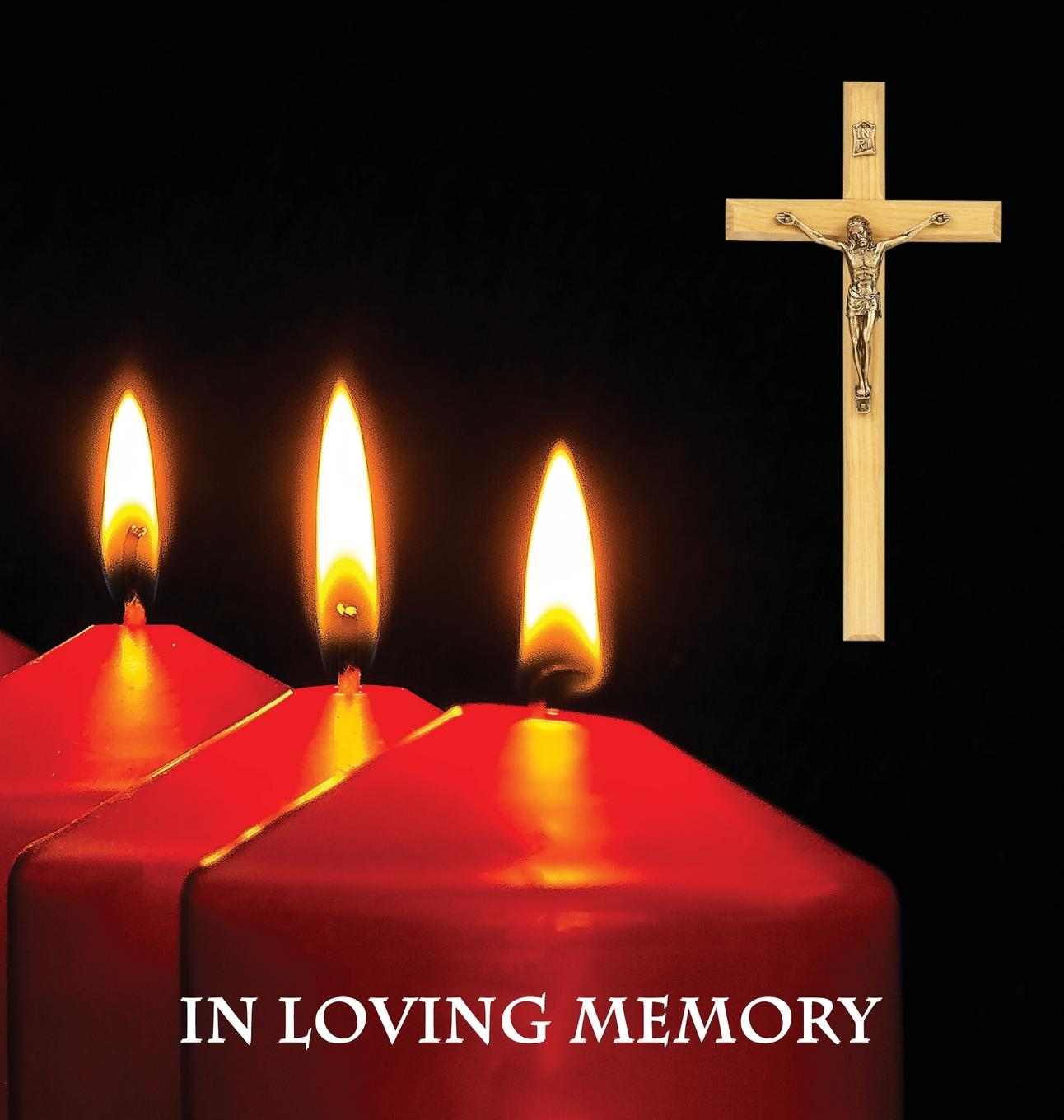In Loving Memory Funeral Guest Book, Memorial Guest Book, Condolence Book, Remembrance Book for Funerals or Wake, Memorial Service Guest Book : A Celebration of Life and a Lasting Memory for the Family. Religious Theme. Hardcover with a Gloss Finish